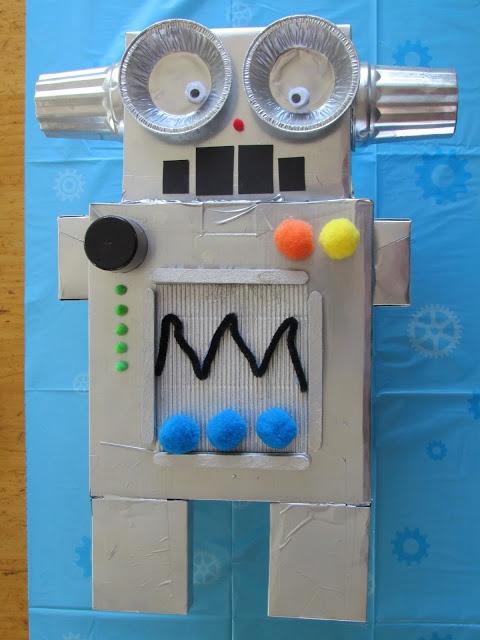 Homemade Robot Pinata