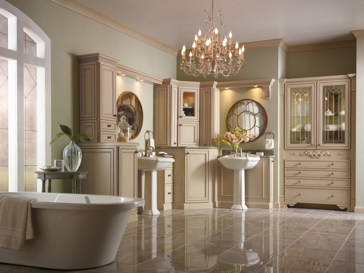 Image Result For Painted Bathroom Cabinets