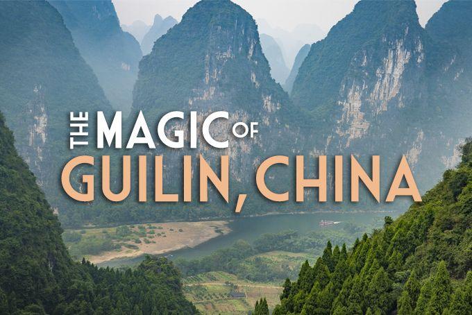 The magic of #Guilin, #China