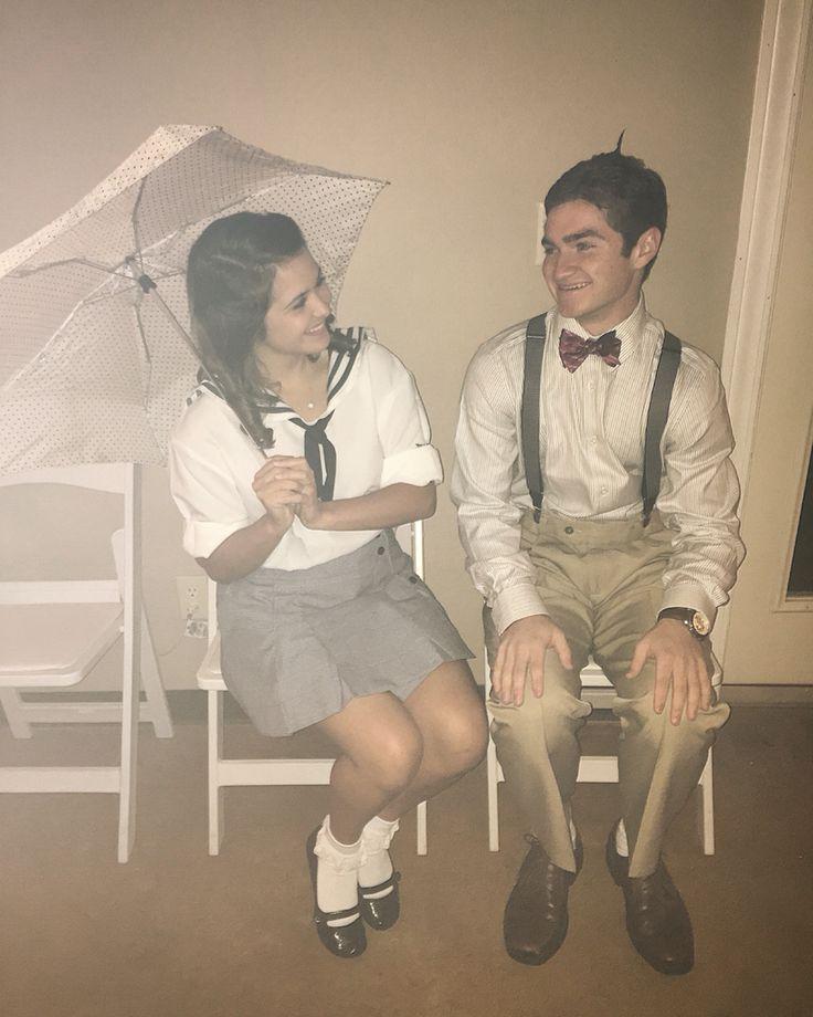Darla and Alfalfa couple costume