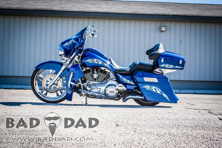 Baggers |  :: Brad's 2012 Ultra | Bad Dad | Custom Bagger Parts for Your Bagger