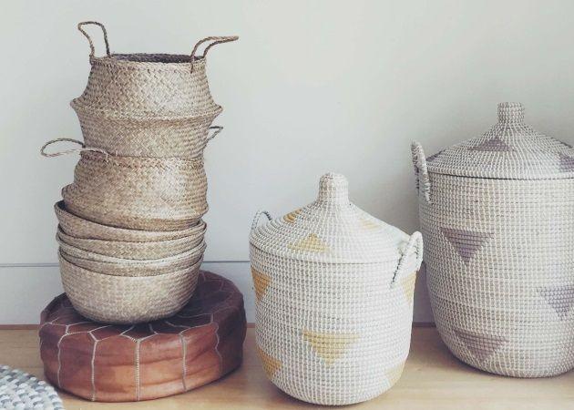 Ψάθινα καλάθια: Το πιο stylish αξεσουάρ της σεζόν και η απόλυτη διακοσμητική τάση του καλοκαιριού