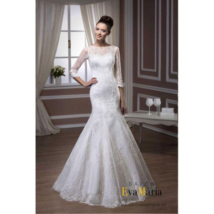 Biele svadobné šaty Susan