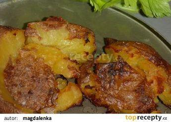 Pečené vařené brambory recept - TopRecepty.cz