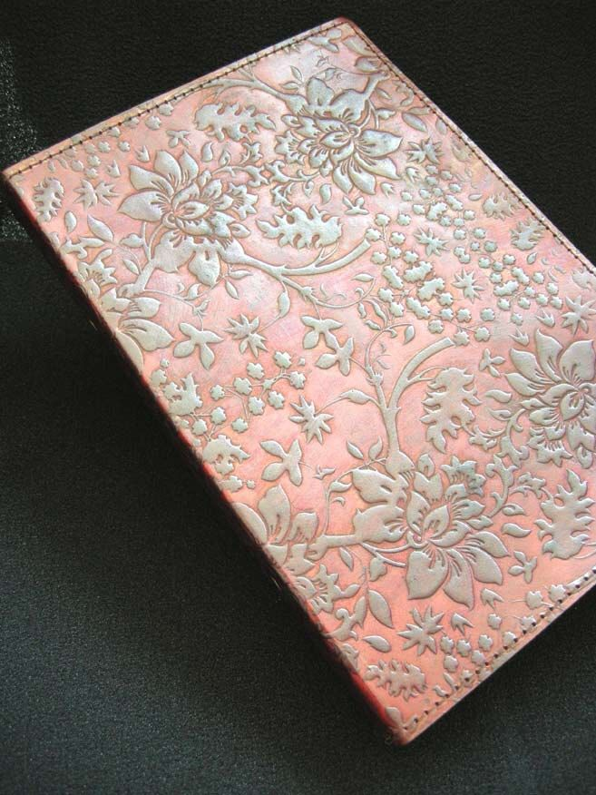 $38.19+shipping A5 Ring Binder - Hand-Tooled Leather - Honeysuckle Floral pattern - Freepost UK by DiaryShop on Etsy https://www.etsy.com/listing/152407038/a5-ring-binder-hand-tooled-leather