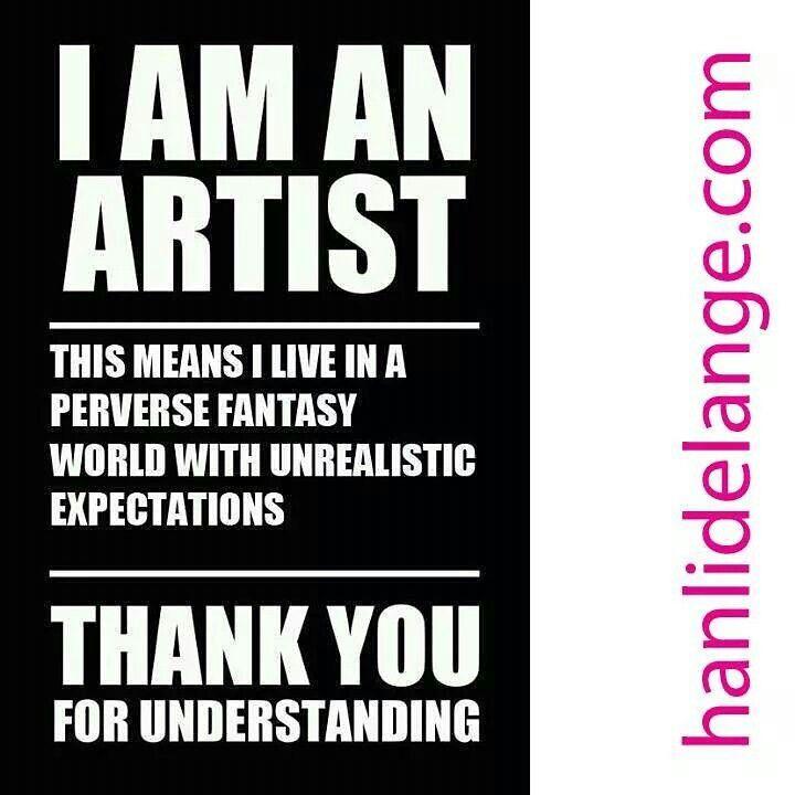 I'm an artist... thank you for understanding. #art #artist #abstract #hanlidelange #abstractlandscape #fantasy