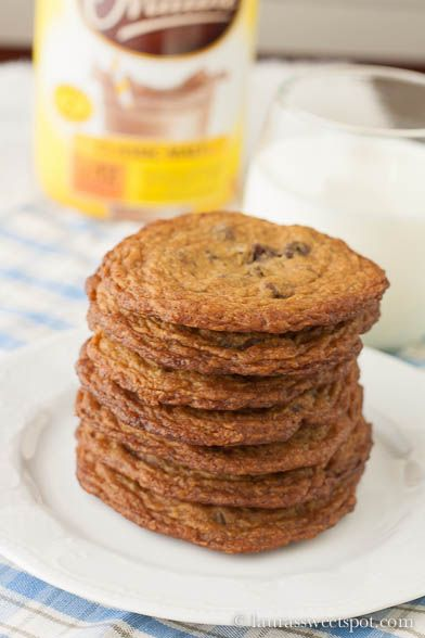 Malted Milk Chocolate Chip Cookies | Baked, Sweets & Desserts | Pinte ...