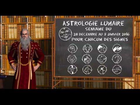 Astrologie Lunaire ☽ Semaine du 28 au 3 janvier 2016