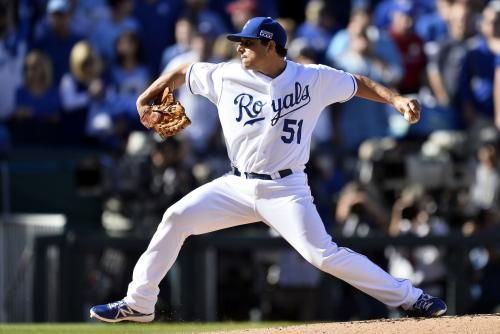 Jason Vargas threw a complete-game shutout as the Kansas City Royals won a challenge and a game, beating the Cleveland Indians 4-0 on…