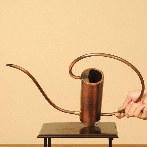 Made in Japan Copper Watering Can Japanese BONSAI IKEBANA 0.3L 10oz JAPAN #YUKEIBONSAI