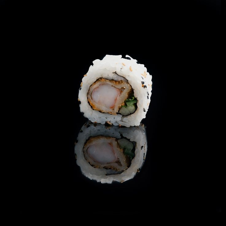 Shrimp Tempura / shrimp, cucumber, fresh onion, spicy sauce & sesame