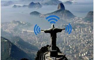 O Cristo Redentor terá internet Wi-Fi grátis. É muito bom para a divulgação de produtos em várias línguas, pois os turistas nacionais e internacionais estar am conectados ao Wi-Fi. É uma #oportunidade maravilhosa.   #inovação #marketing #internet #grátis #vendas #estratégia #LaisGuerra