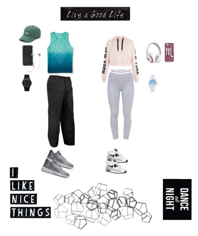 """""""sporty"""" by dindameitiza on Polyvore featuring Aéropostale, NIKE, Beats by Dr. Dre, Swatch, Shinola, i.am+, Vans, 3R Studios, Native State and Lacoste"""