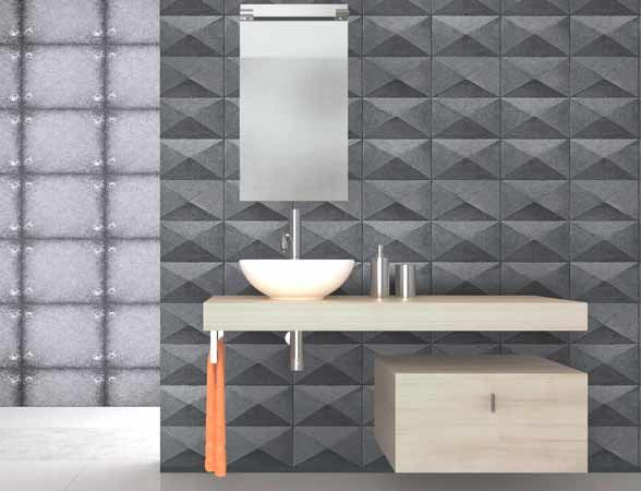 Faux concrete wallpaper from the Textures range.  #wallpaper #fauxeffect #industriallook