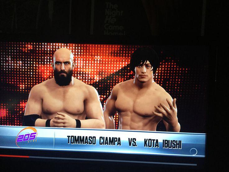 Round 2 Match #1 Tommaso Ciampa vs Kota Ibushi