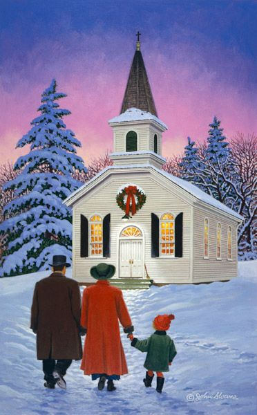 409 Best Christmas Churches Images On Pinterest