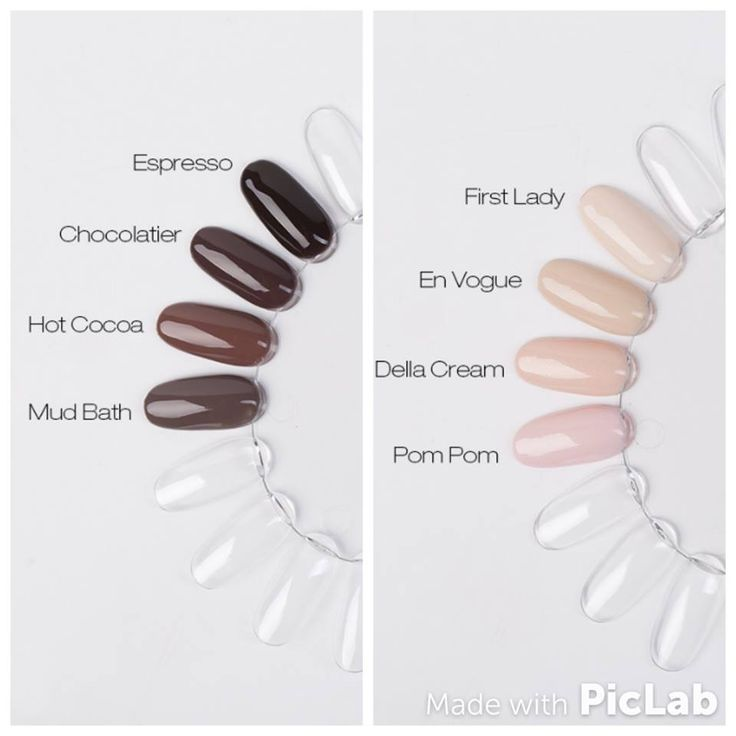 New Colour Collection - Skin and Chocolatier :) Find more inspiration at www.indigo-nails.com #nailart #nails #indigo #nude #chocolate #new