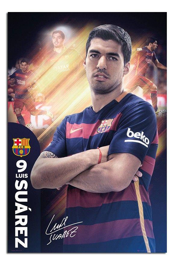Barcelona Luis Suarez 2015/16 Season poster