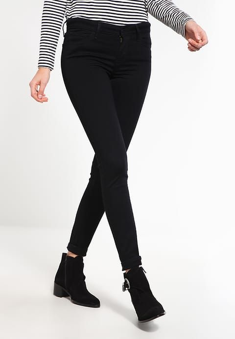 Levi's® 710 INNOVATION SUPER SKINNY - Jeans Skinny Fit - night - Zalando.no