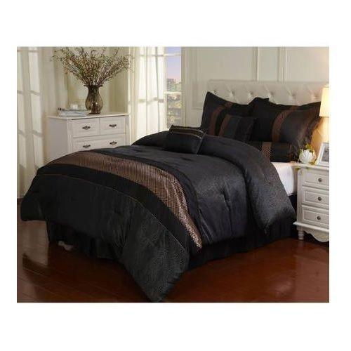 7 Pcs Comforter Set Bedding Luxury Covers Bedroom Queen King Pillows Decor Quilt #comforterset  #7piecebedding