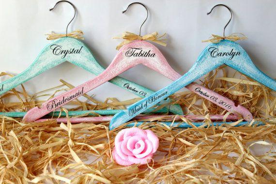 Rústico suspensión suspensiones de boda regalo de las damas