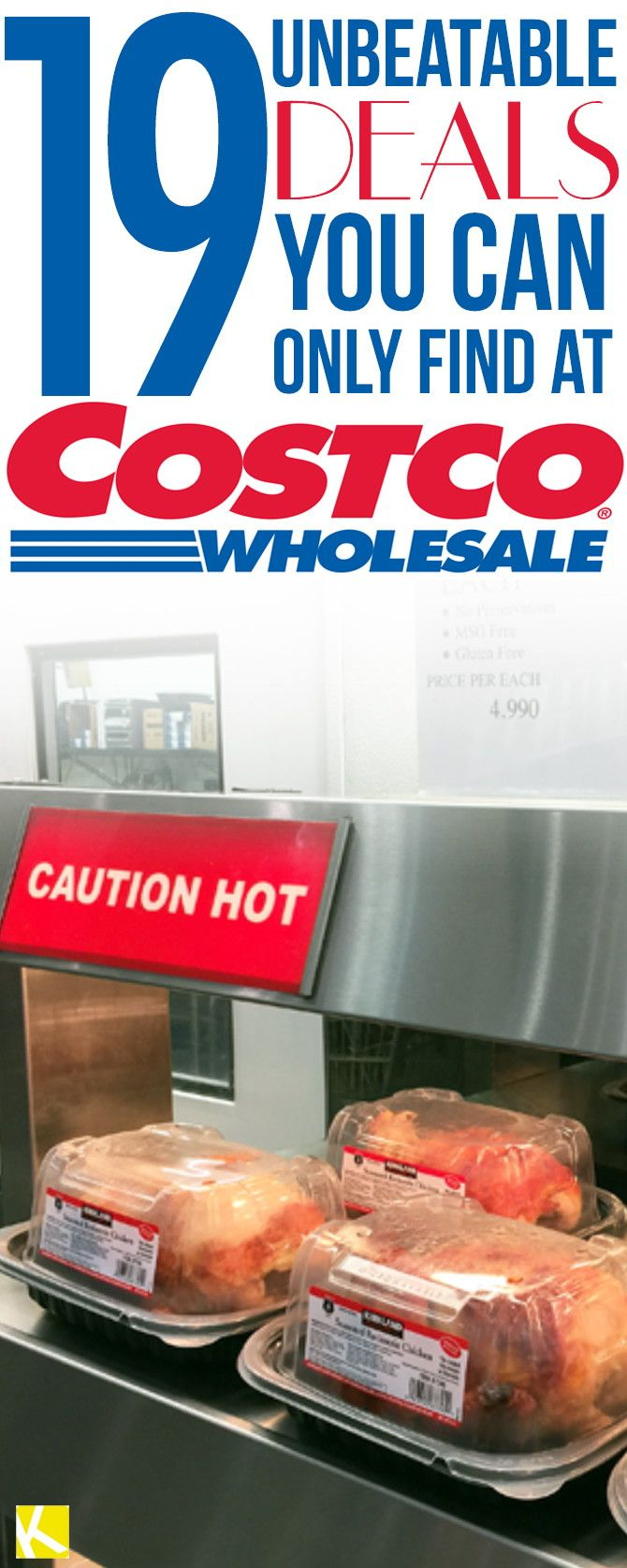 Every time I get my Costco membership renewal notice in the mail, it's these 19 items that keep me writing that $55/year check. 1. Pure maple...