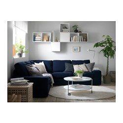 IKEA - KIVIK, Hoekbank 2+2, Orrsta donkerblauw, , Gratis 10 jaar garantie. Raadpleeg onze folder voor de garantievoorwaarden.