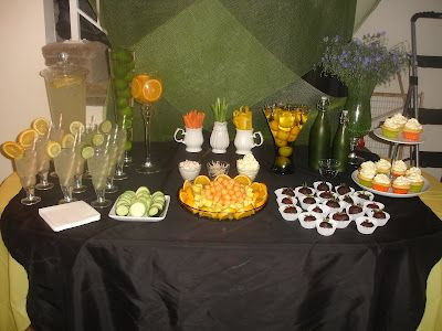 Citrus Inspired Pampered Spa Party. Check out all the fun photos. craftynightowls.blogspot.com, #party, #spa