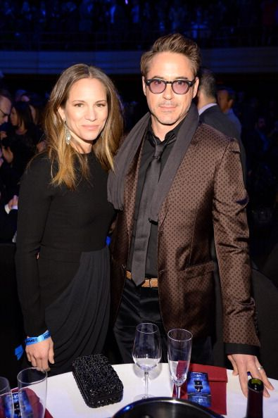 Robert Downey Jr. and Susan Downey in New York City, January 31, 2014.