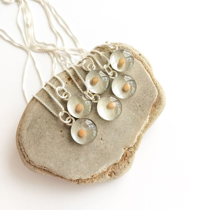 custom set - mustard seed necklaces