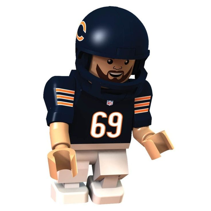 #69 Jared Allen Chicago Bears Defensive End Limited Edition OYO minifigure