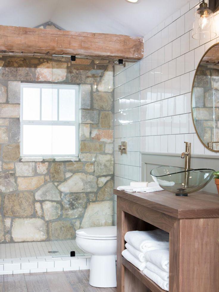 355 best my fixer upper fix images on pinterest magnolia for Joanna gaines bathroom renovations