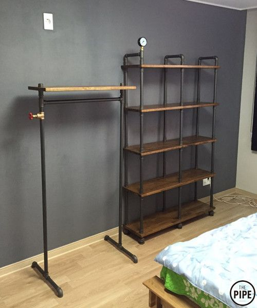 easy made pipe furniture with great look iron o