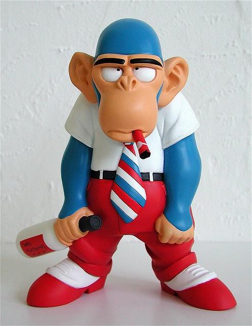 Monkey Boy vinyl figure by Frank Cho & MINDstyle