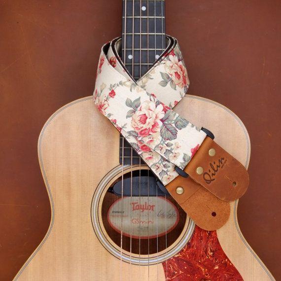 https://www.etsy.com/listing/251538595/cream-frabric-flower-guitar-strap