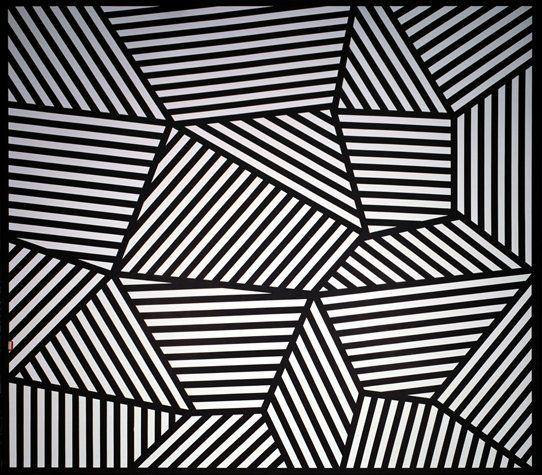 Sol LeWitt Wall Drawing #565: On Three Walls, Continuous