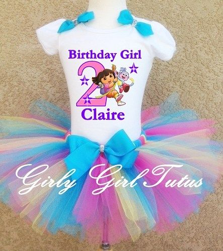 Dora Girls Birthday Party Outfit