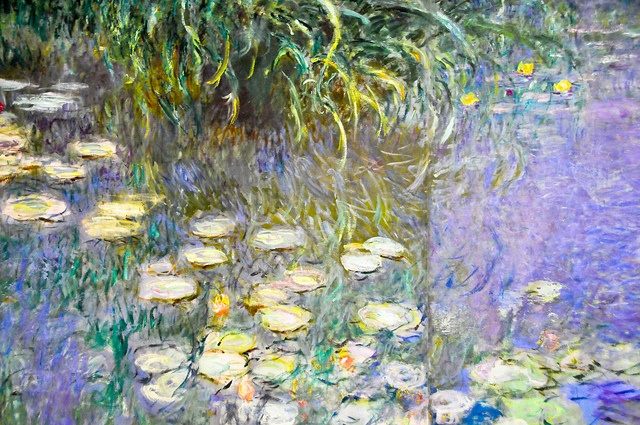 Claude Monet - Nymphéas (Water Lilies) at Musée de l'Orangerie Paris France by mbell1975, via Flickr