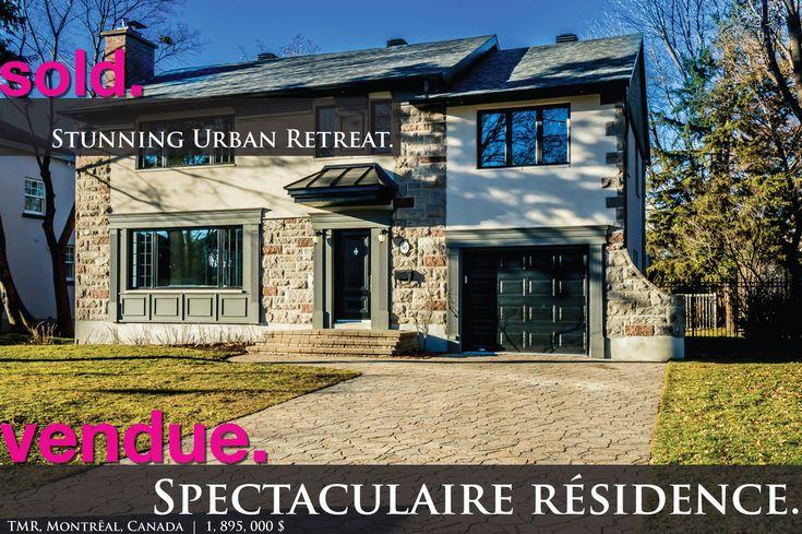 Grenfell | Ville Mont-Royal 1,899,000$