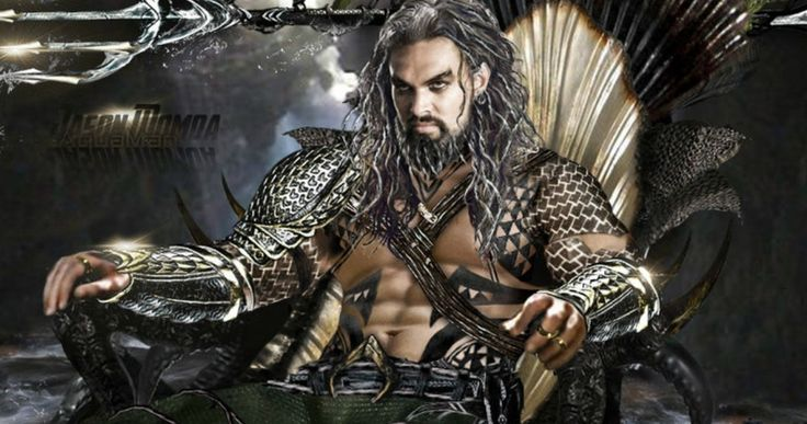 'Aquaman' May Get a More Tradition Costume Teases Jason Momoa -- Jason Momoa says one of his 'Aquaman' costumes has hints of the traditional orange and green and confirms toys are on the way. -- http://movieweb.com/aquaman-movie-costume-jason-momoa/