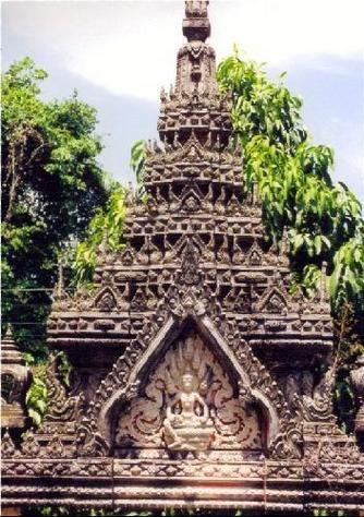 Phuket Island Temple, Thailand
