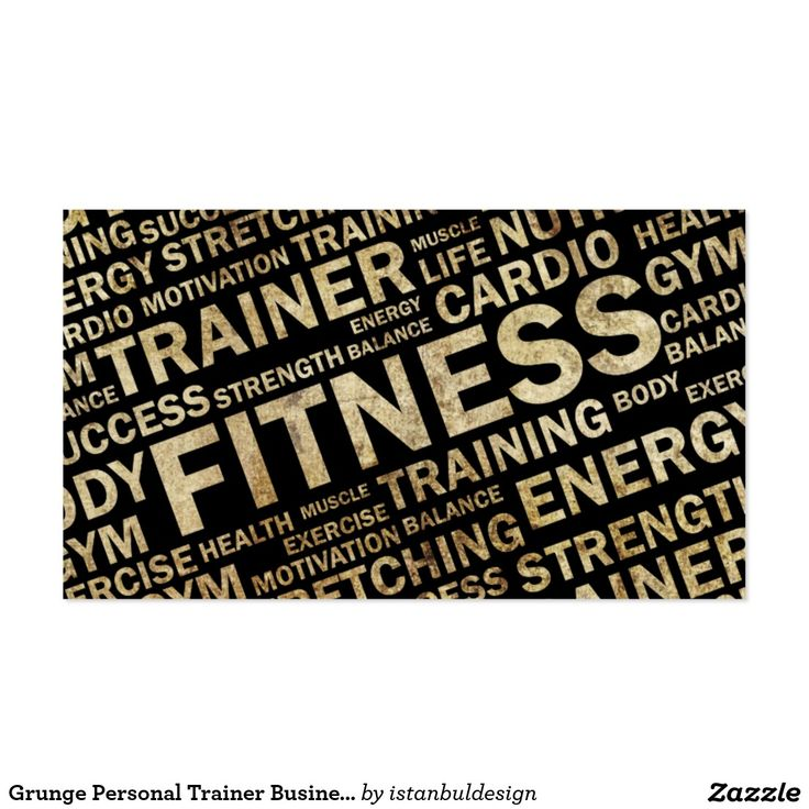 212 best Fitness Business Cards images on Pinterest   Trainers ...