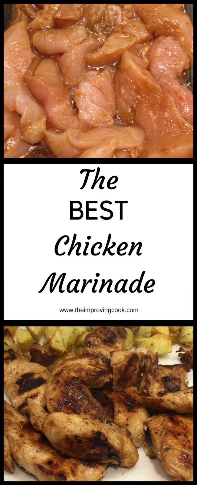 The Improving Cook- The Best Chicken Marinade. This simple marinade is amazingly delicious. A recipe with a few simple ingredients but they add massive amounts of flavour to the chicken. try it and you won't be disappointed!
