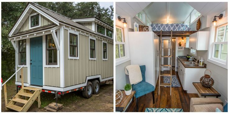Best 25 tiny houses in the media images on pinterest for Low country tiny house show