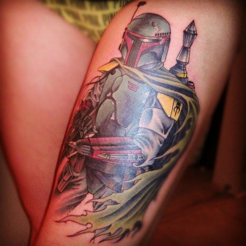 Boba Fett Tattoo