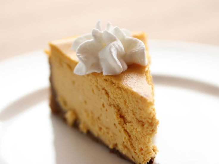 Pumpkin Gingersnap Cheesecake recipe from Ree Drummond via Food Network