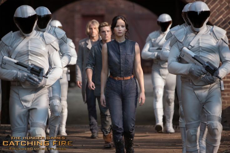 District 12's existing pool of victors - Katniss, Peeta, and Haymitch in The Hunger Games Catching Fire