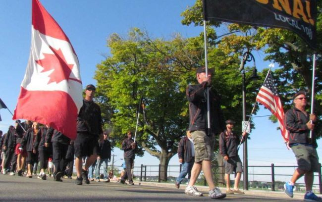 Happy days are here again, says the  president of the Sarnia and District  Labour Council.