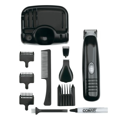 Conair Deluxe Beard and Mustache Trimmer, Battery Operated, GMT170XCS  - 1 Ea