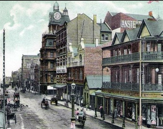 Old Johannesburg, showing Ansteys building. Pushpa Padayichie